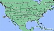 Where is San Jose, CA? / San Jose, California Map ...