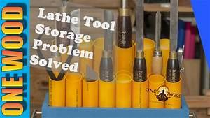 Woodturning Lathe Tool Storage SOLVED Easy Woodworking