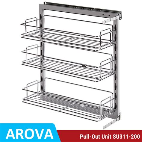pull out baskets for kitchen cabinets pull out pantry organiser kitchen base storage wire basket
