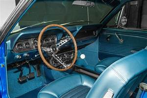1966 Ford Mustang Electric Blue 289 4
