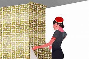comment tapisser dans les coins instructions pour poser With comment tapisser un meuble