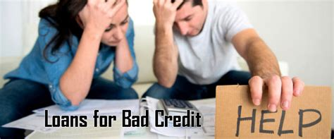 Loans For People With Bad Credit Or No Credit