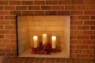 candle holder for inside fireplace ma maison metamorphosis monday fireplace