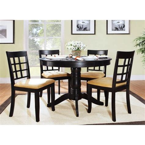 walmart black dining room chairs 17 best ideas about kitchen table sets on