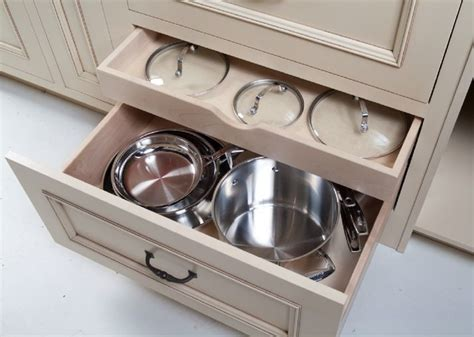 kitchen storage cabinets for pots and pans pots pans lids storage organization options for