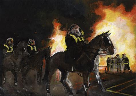 britains riots linda slaters artwork