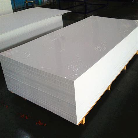 supply mm waterproof pvc foam sheet  pvc sheet plastic  construction formwork factory