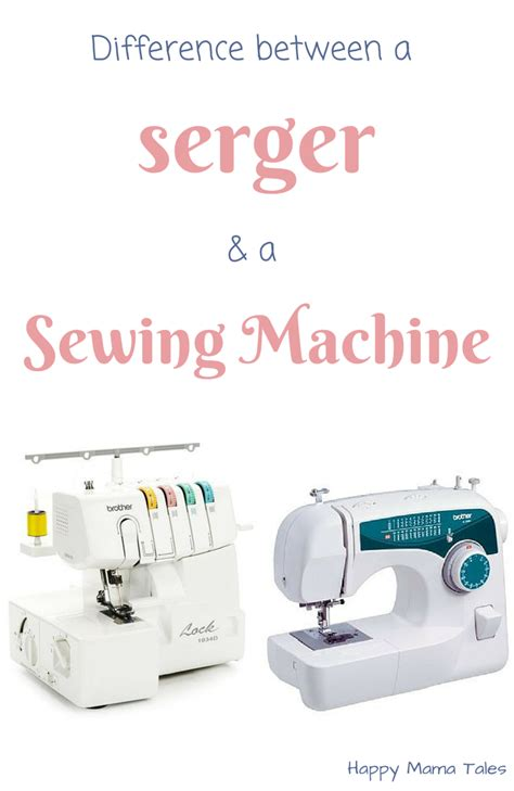 serger sewing the difference between a serger and a sewing machine