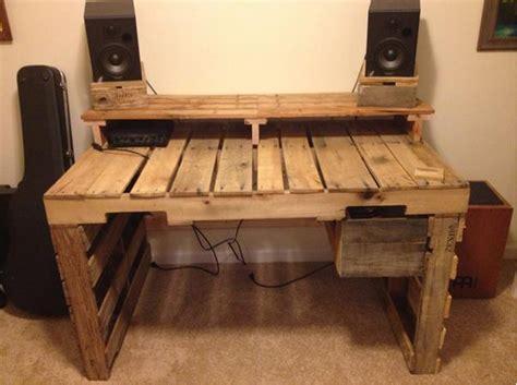 Schreibtisch Möbel by Schreibtisch Aus Paletten Selber Bauen Hausideen