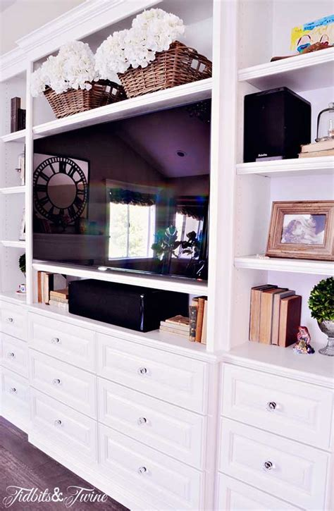 built in tv cabinet designing a built in tv cabinet tidbits twine