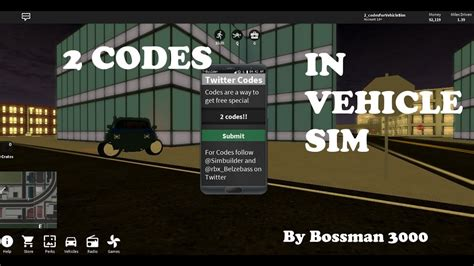 Roblox Vehicle Simulator Money Codes 2017