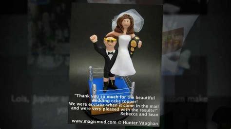 wwe wrestlers wedding cake toppers youtube