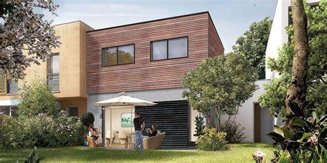 exemple prix maison bois salon salle manger de la maison bois nexthouse aspect de la maison en