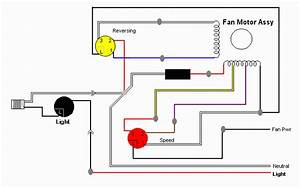 3 Speed Fan Wiring Diagrams