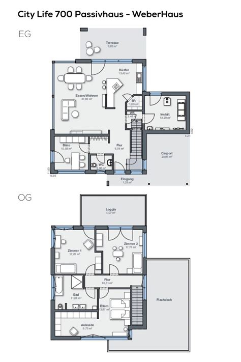 grundriss einfamilienhaus  zimmer  qm wohnflaeche