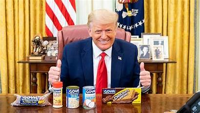 Goya President Trump Ivanka Support Uproar Trumps