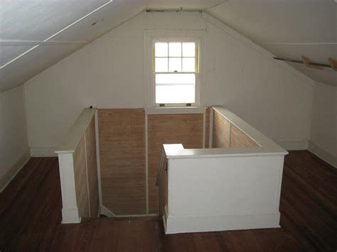 stairs to attic unfurnished house annapolis maryland