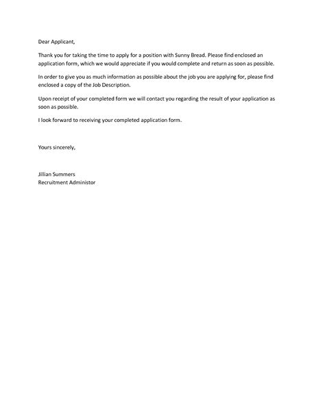 application follow up letter follow up letters to send