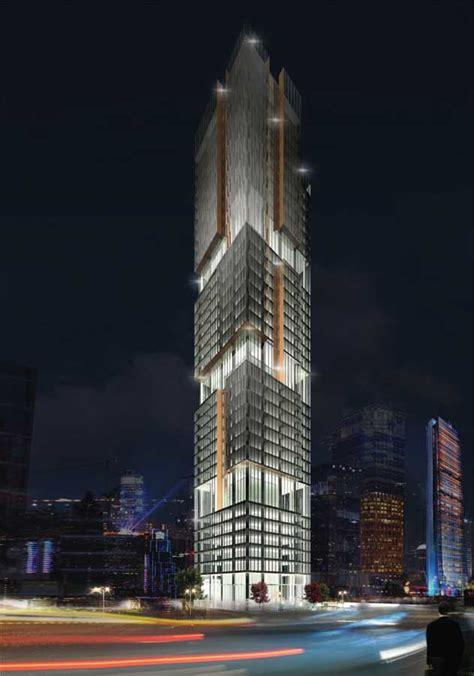 zorlu levent office tower istanbul skyscraper building