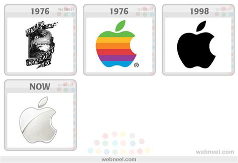 Apple Logo Evolution History 20