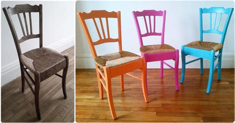 repeindre des chaises en bois et paille diy chaise de grand m 232 re trendy diy artlex