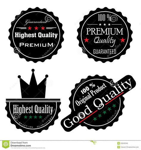 high quality black stickers royalty  stock images