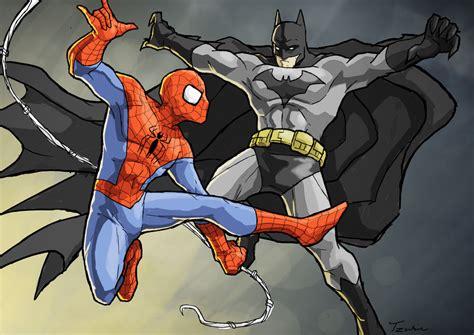 Spider-man Vs. Batman By Tokyo51zombie On Deviantart