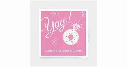 Donut Bridal Shower Bachelorette Napkin Paper Party