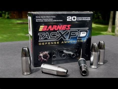 Barnes Defense by Ammo Review Barnes 9mm 115 Gr Tac Xpd Copper Hollowpoint