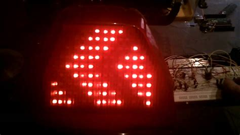make your own led l homemade diy integrated motorcycle led tail light youtube