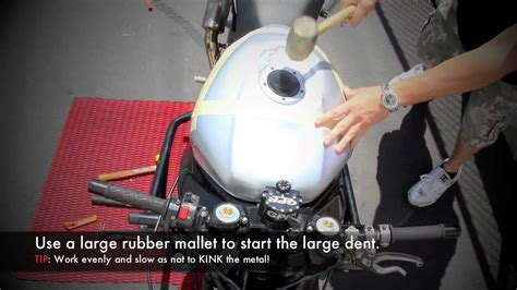 Motorcycle Gas Tank Denting