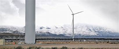 Wind Turbine Tooele Army Energy Second Depot