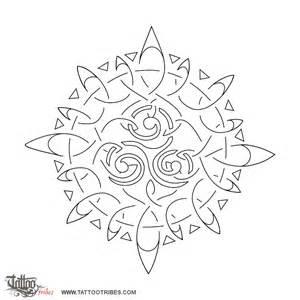 Celtic Sun Tattoo Stencils