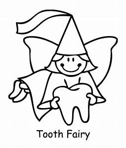 Tooth fairy coloring pages to download and print for free