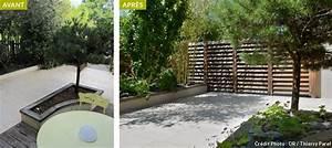 avant apres amenager un jardin tout en longueur With amenagement d un petit jardin de ville 12 avant apras amenager un jardin tout en longueur
