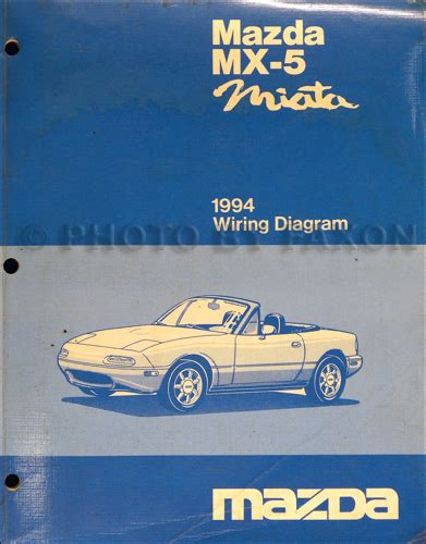 Mazda Miata Electrical Wiring Diagram Original