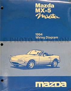 1994 Mazda Mx Miata Repair Shop Manual Original