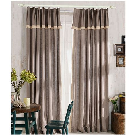 dining room window curtains are simple and