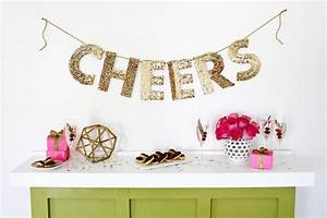 creative christmas party ideas for design lovers With letter garland