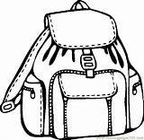 Backpack Coloring Pages Clipart Printable Supplies Border Coloringpages101 Backpacks Clipartmag Pdf Getcoloringpages Things sketch template