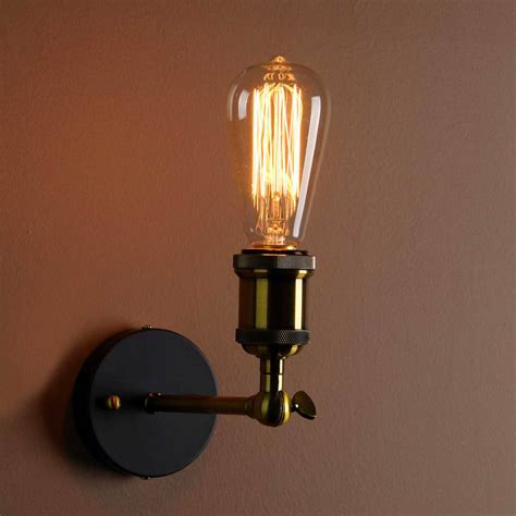 industrial style wall light unique s co