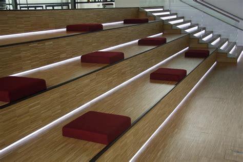 Stufenbeleuchtung Außen by Projekte Mit Leuchtfolie Leds Rgb Led Stufenbeleuchtung