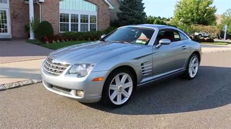 review   chrysler crossfire limited coupe  sale