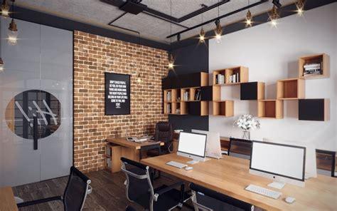 A Small Industrial Apartment With A Home Office Blue Decor by Small Industrial Office 3d Model Max Obj Mtl 1 Cosas En