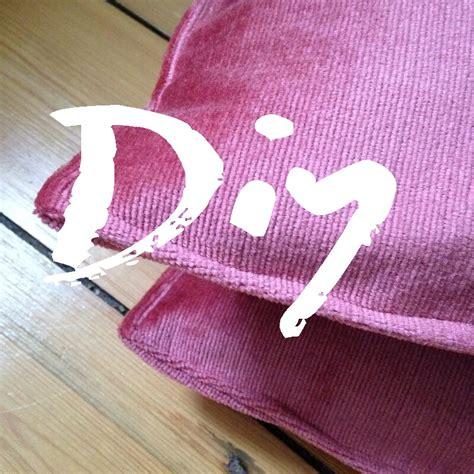 Diy Samtkissen  Made Of Stil  Slow Fashion & Vintage