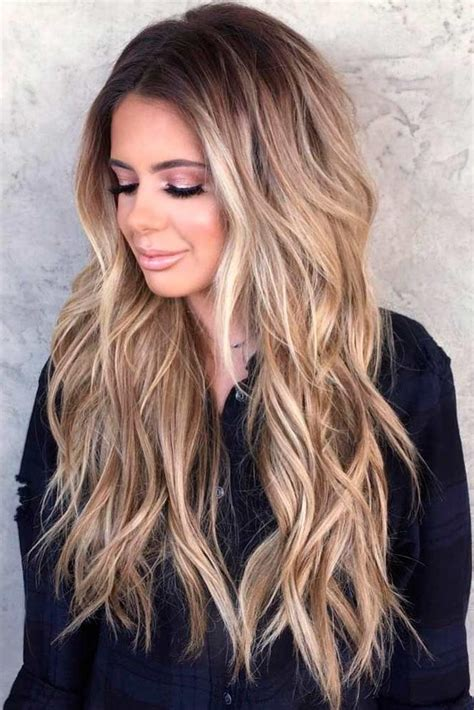 2019 Latest Long Haircuts With Long Layers