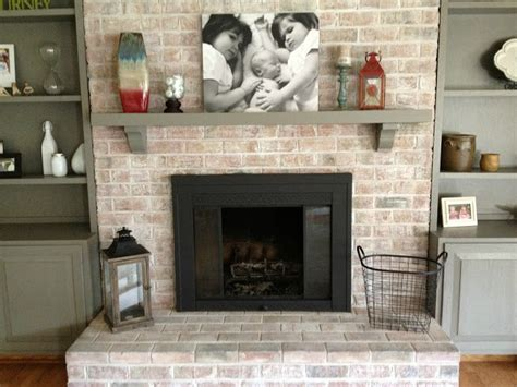 whitewashed brick fireplace how to whitewash brick 13 cool tutorials shelterness