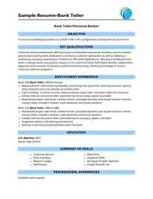 resume objective for bank teller amazing bank teller resume sle 2016 resume sles 2017