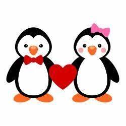 cute penguin couple drawing - Google Search | Penguin ...