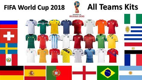 e40ba28da40 1280 x 720 www.funnycat.tv. 2018 World Cup  All Teams Kits ...